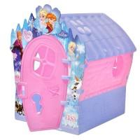 Casuta de joaca pentru fetite Frozen, 95 x 90 x 110 cm, Multicolor