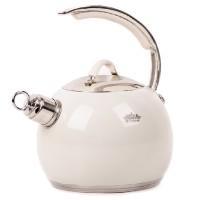 Ceainic inox Peterhof, 3 l, inductie, bej