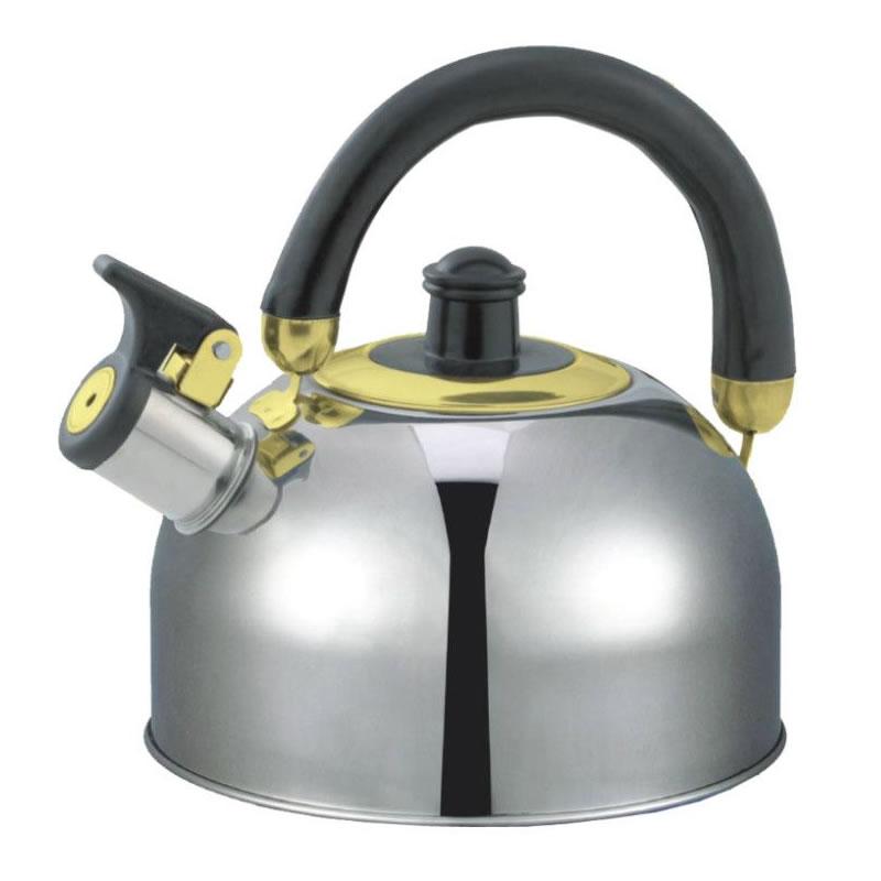 Ceainic din inox cu fluier Zilan ZLN0474, capacitate 2.5 litri 2021 shopu.ro