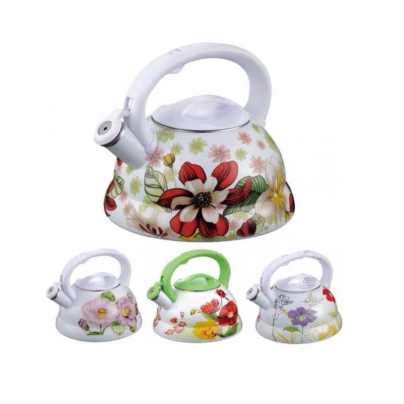 Ceainic email Peterhof PH-15562, 3 l, motive florale