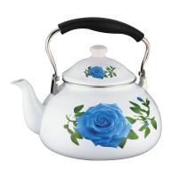 Ceainic email Peterhof, 5 l, model floral