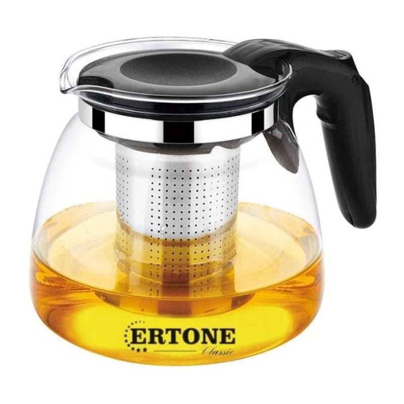 Ceainic sticla cu infuzor Ertone, 900 ml 2021 shopu.ro