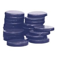 Ceara elastica tip discuri Roial CER2353, 1 kg, albastra