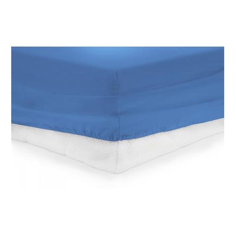 Cearceaf Pat Heinner, 140 x 200 cm, bumbac, elastic, Albastru shopu.ro