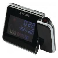 Ceas cu proiectie Koning, prognoza, calendar, alarma