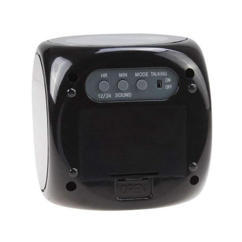 Ceas cu proiectie si lumina CJ2028, afisaj LCD, temperatura