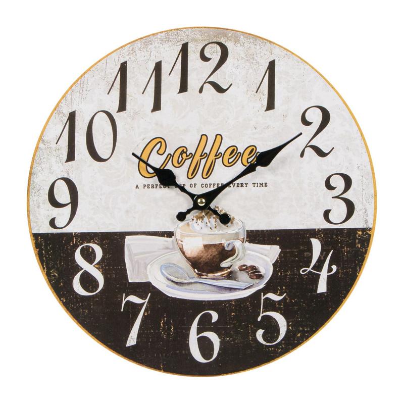 Ceas de perete Coffe Gourmet, 34 cm 2021 shopu.ro
