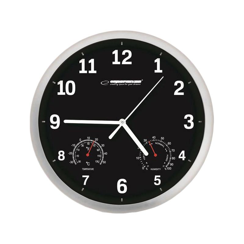 Ceas de perete Esperanza Lyon, diametru 25 cm 2021 shopu.ro