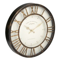 Ceas decorativ de perete, 40 cm, mesaj Time to Scratch