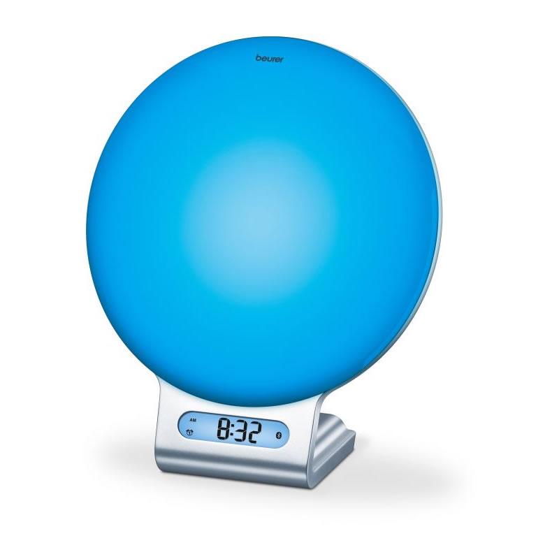 Ceas desteptator cu lampa Beurer WL75, radio, modificare culoare 2021 shopu.ro