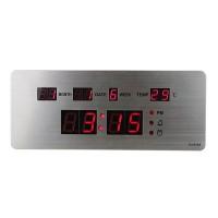 Ceas digital de perete TNT, LED, calendar, alarma si termometru