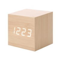 Ceas digital lemn VST-869, LED, alarma