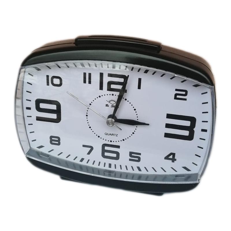 Ceas quartz cu alarma New Fashion 2646, Negru 2021 shopu.ro