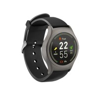 Ceas smartwatch Acme SW201, HR, display digital, microfon integrat, Negru/Gri