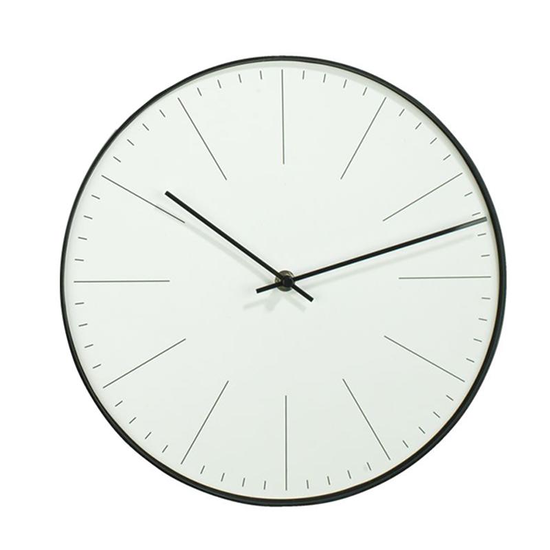 Ceas de perete, 30 cm, hartie/polistiren, Gri 2021 shopu.ro