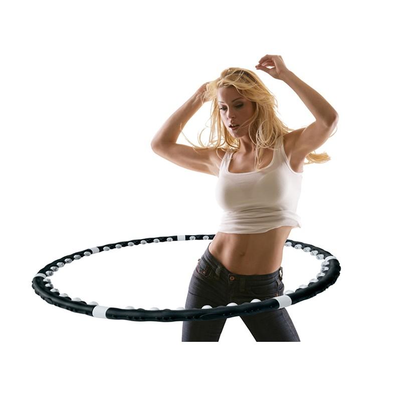 Cerc de masaj Hula Hoop, 35 bile