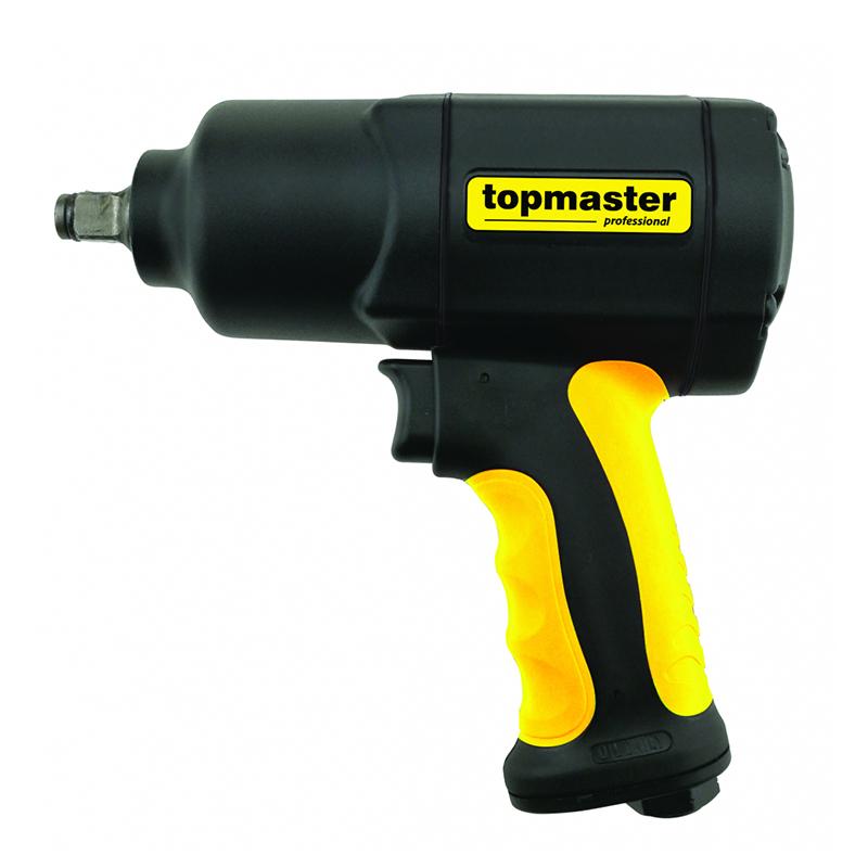 Cheie pneumatica de impact Top Master, 1/2 inch, 6.3 bar, 169 l/min, 1600 Nm, 8500 rpm shopu.ro