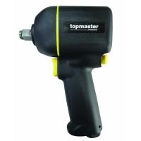 Cheie pneumatica de impact Top Master, 1/2 inch, 1100 Nm, 6.3 bar, 160 l/min, 10000 rpm