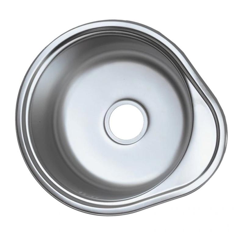 Chiuveta inox Mixxus Z4843-06-160E, 480 x 430 mm, adancime 160 mm, suprafata satin 2021 shopu.ro