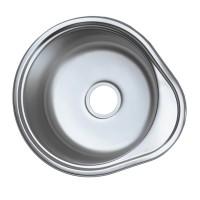 Chiuveta inox Mixxus Z4843-06-160E, 480 x 430 mm, adancime 160 mm, suprafata satin