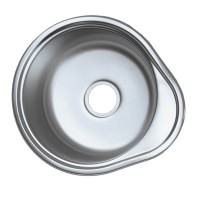 Chiuveta inox Mixxus Z4843-08-180E, 480 x 430 mm, adancime 180 mm, suprafata satin