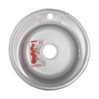 Chiuveta inox Mixxus Z490-08-180E, 490 x 490 mm, adancime 180 mm, suprafata satin