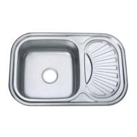 Chiuveta inox Mixxus Z7549-08-180MD, 750 x 490 mm, adancime 180 mm, suprafata micro decor