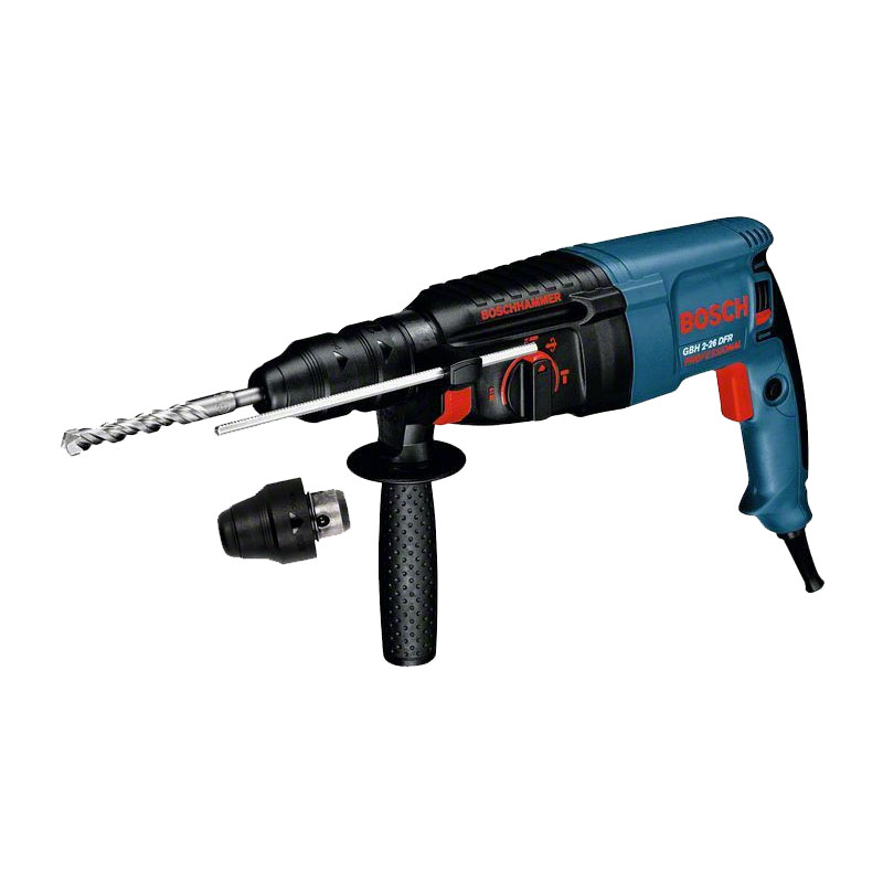 Ciocan rotopercutor Bosch GBH 2-26 DFR, 800 W, 2.7 J, 4000 percutii/min, 900 rpm, SDS Plus shopu.ro
