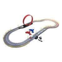 Circuit de viteza pentru tren si masina, 200 x 90 x 36 cm