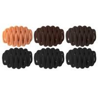 Set clesti pentru prinderea parului Oranjollie K399, 12 bucati, silicon