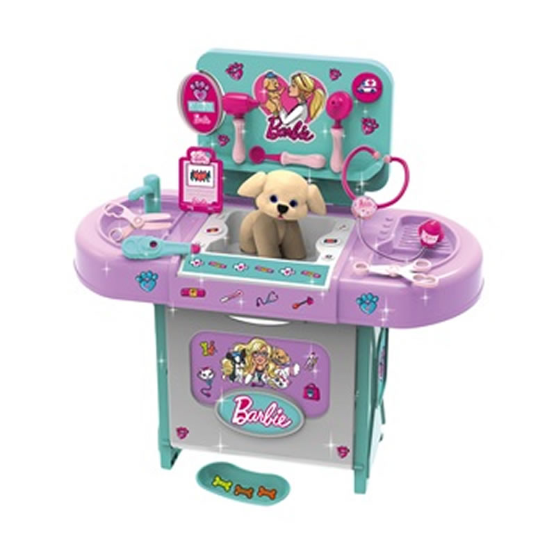 Clinica pentru animale Barbie, instrumente medicale si accesorii 2021 shopu.ro