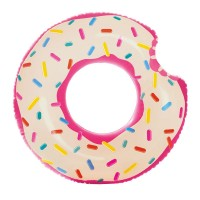 Colac inot Donuts Pink Intex, 107 x 99 cm