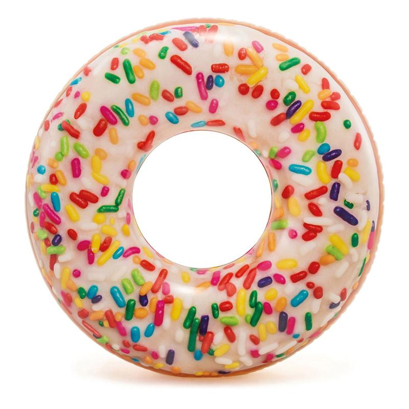 Colac inot Rainbow Donut, 114 cm, Multicolor 2021 shopu.ro