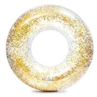 Colac inot Transparent Glitter Tube, 119 cm, glitter auriu