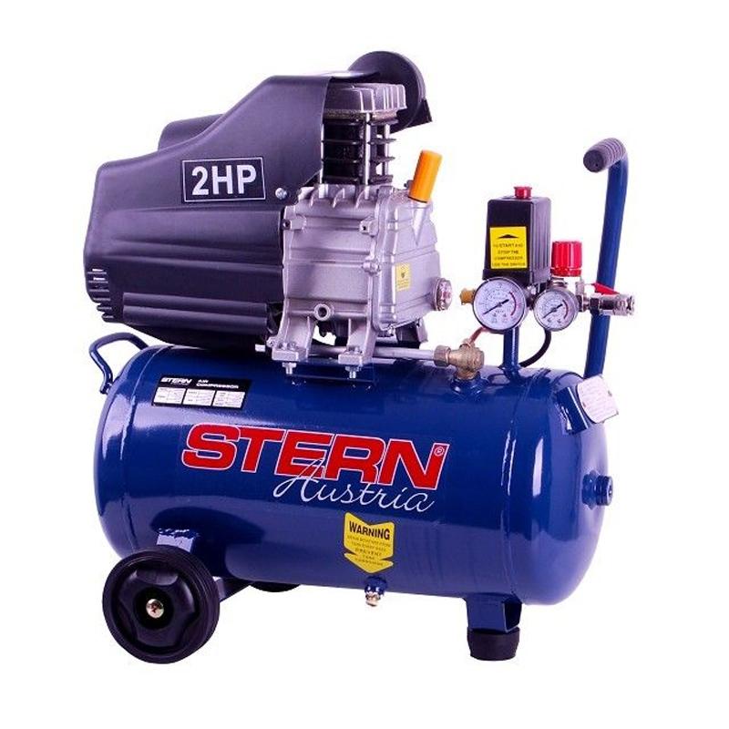 Compresor Stern CO2024A, 25 L, 2 CP, 8 Bar, 1500 W