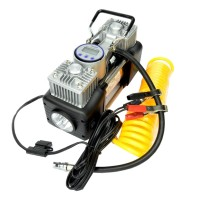 Compresor auto Camel, afisaj LCD, 25 A, 85 l/min, lanterna