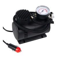 Compresor auto cu manometru, 12 V, alimentare bricheta auto