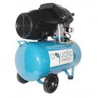 Compresor cu aer Elefant Aquatic YV2050, 2 CP 8 bar, 2850 rpm, 300 l/min, butelie 50 l, 2 duze, filtru burete