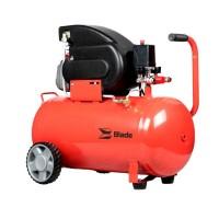 Compresor de aer, 1500 W, 50 l, 2 CP, 8 bar, 2800 RPM, 185 l/min, motor electric