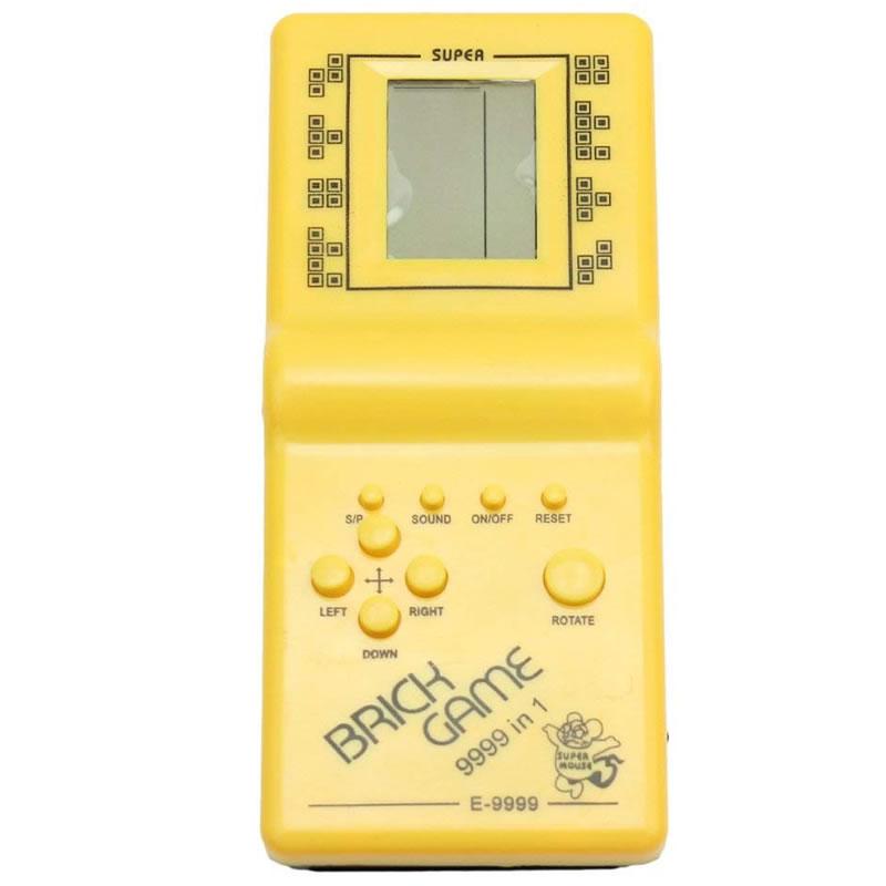 Consola joc clasic Tetris 9999 in 1, LCD, 2 x AA