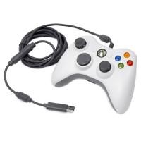 Controller Microsoft XBOX 360, 3 nivele control, Alb