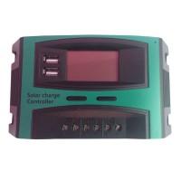 Controller panou solar fotovoltaic Solar Charge, 20 A, 2 x USB, ecran LCD
