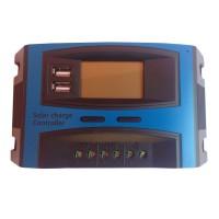 Controller panou solar fotovoltaic Solar Charge, 20 A, 2 x USB