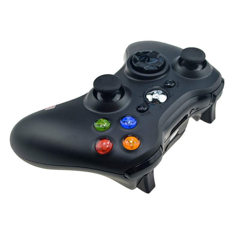 Controller wireless compatibil XBOX 360 sau PC, Negru 2021 shopu.ro