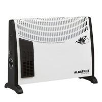 Convector electric Albastros, 2000 W, 3 trepte, termostat, functie Turbo