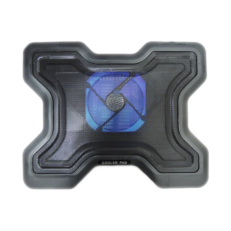 Cooler laptop cu 1 ventilator mare YL-878 2021 shopu.ro