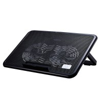 Cooler laptop, USB, 2 ventilatoare
