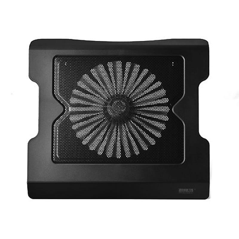 Cooler pentru laptop NB16, 1 ventilator, Negru