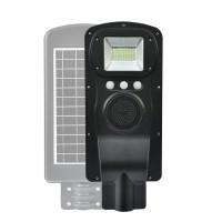Corp de iluminat stradal cu panou solar CCLamp, 80 W, bluetooth, redare audio, senzor miscare
