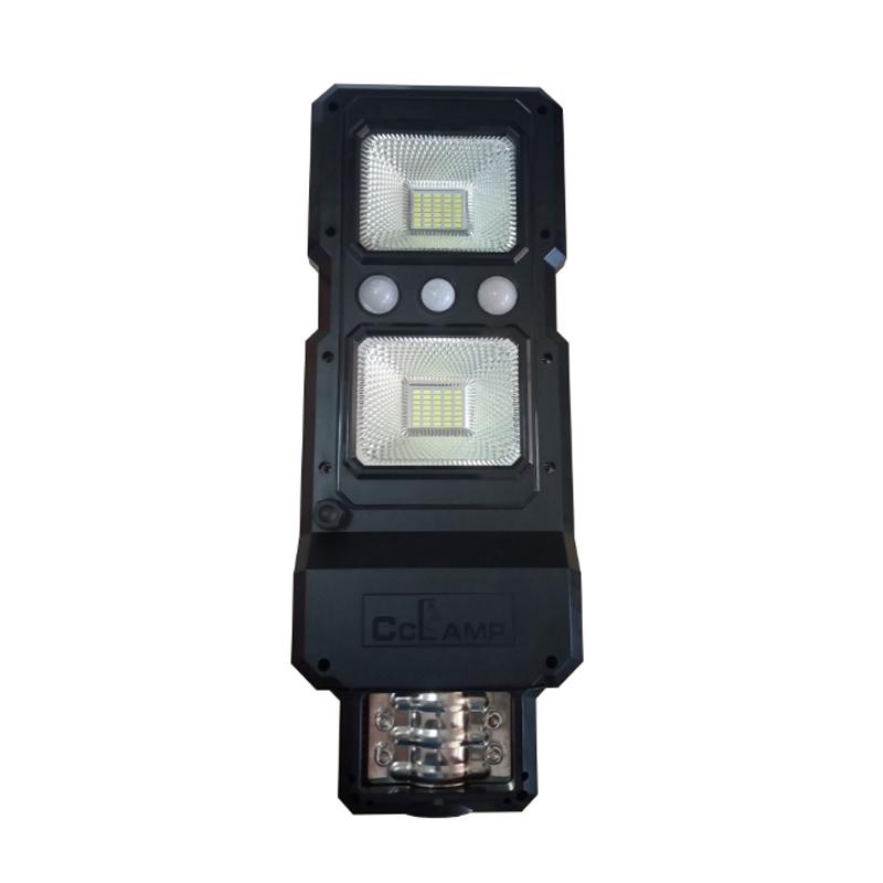 Corp iluminat stradal cu panou solar CCLamp, 70 W, senzor miscare/lumina, temperatura alb rece, acumulator LI-Ion shopu.ro